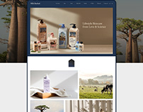 MILK BAOBAB OFFICIAL SITE DESIGN & PUBLISHING