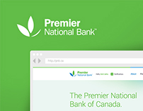 Premier National Bank Branding