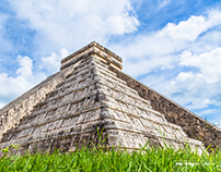 One of the seven words in the world: Chichen Itzá