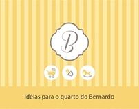 Idéias para o quarto do Bernardo