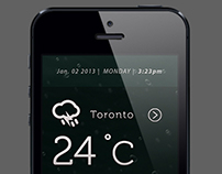 'Cel˚C us' weather App