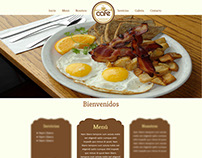 Cafe Template HTML