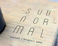 ~ Subnormal Fanzine ~