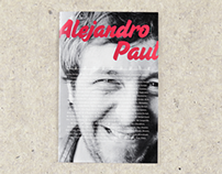 Alejandro Paul booklet