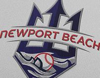 Newport Beach Baseball Logos