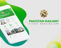 Pakistan Railway - App Redesign