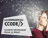 Refonte Graphique - Print - La compagnie du code
