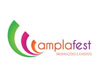 Projeto de Identidade Visual Amplafest Eventos
