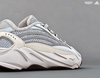 Adidas Yeezy Boost 700 V2 Static - CGI - 3D