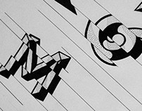Hand drawn type experiment