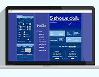 Redesigning IndiGo Airlines website