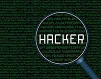 Hacker - Cyber Typeface