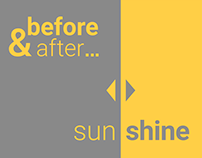before & after (Sunshine)