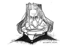 Kalam's Caricature