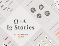 Q+A Stories Templates FREE