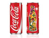 COCA-COLA, packaging design