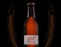 Product photography + retouch - AK DAMM Beer