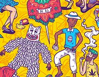 Blocos e figuras do Carnaval de Olinda