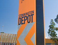 Council Depot signage