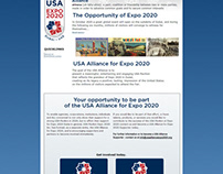 USA Alliance Pitch: Website and Directory Cover