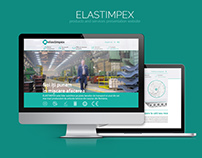 ELASTIMPEX - Presentation Website