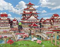 Fantasy Japanese Castle