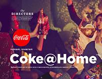 Coke@home - website deisgn