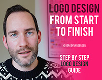 Logo Design from Start to Finish - Process Video
