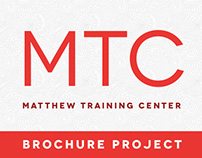 Matthew Training Center Brochure Design