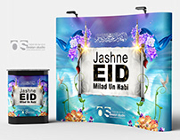 Stage - Backdrop Jashn-e-Eid Milad