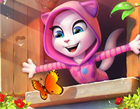(project) Talking Tom and Friends . Outfit7