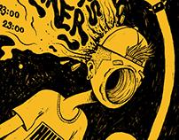 Event Poster - Tøm Hodets Tanker 02