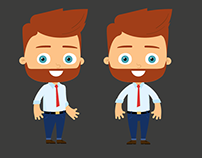 Character design set