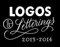 Logos & Letterings 2013 - 2014