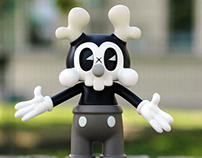Kranyus. Silent Era Edition. Vinyl Toy.