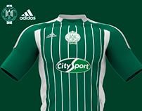 Raja Club Athletic(RCA), Adidas Football Kit 2014/2015