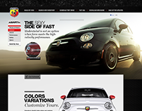 FIAT 500 ABARTH Reveal & Website