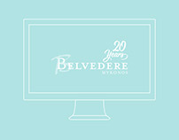 Belvedere 20 years - Web Design
