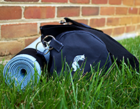 The Little Blue Fox Yoga Mat and Bag Carrying System