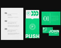 Push - App & Brand Identity