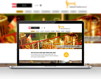 Website für Flecks Brauhaus Technik Austria