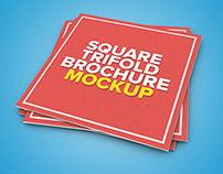 Square Tri-Fold Mock-Up