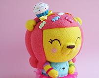 """""""Harajuku Sweetie Bear"""" 9"""" / 22 cm Art Bear"""