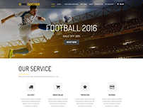 WS Soccer WooCommerce WordPress Theme