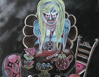 Bloody Alice in Mad Tea Party