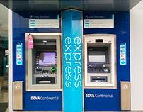 Manuales y Cambio de Imagen ATM Isla - BBVA Continental