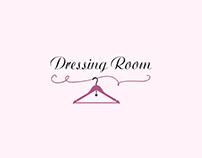 """Branding for hotels in women's clothing """"Dressing Room"""""""
