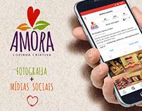 MÍDIAS SOCIAIS: Amora - Cozinha Criativa