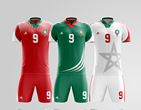 Morocco soccer kit - World cup Russia 2018 | Adidas