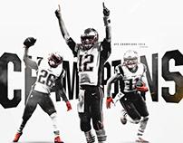 NFL AFC Championship Graphic 2019